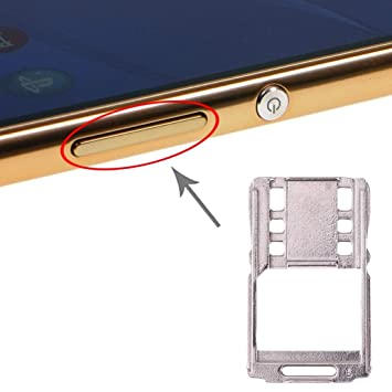 GAIPENGSON Bandeja de Tarjeta SIM For Sony Xperia M5: Amazon ...