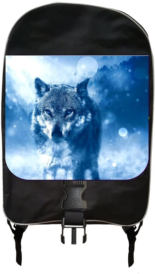 Arctic Wolf Jacks Outlet School Backpack and Pencil Case Set