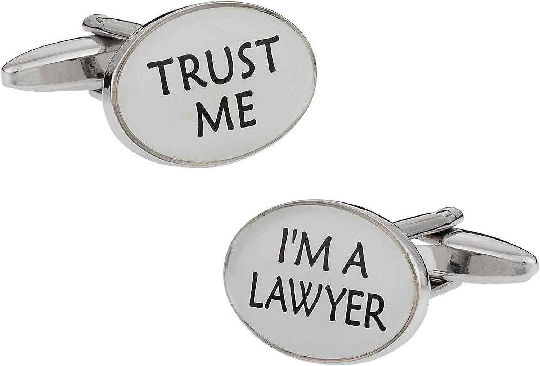 Cuff-Daddy Trust Me Lawyer Cufflinks with Presentation Box