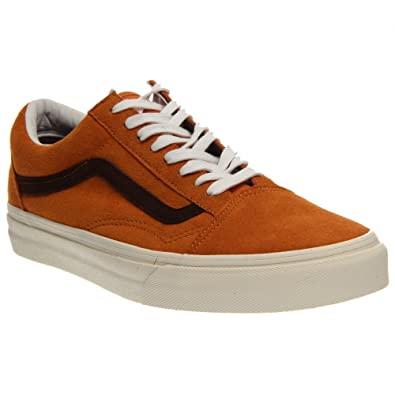 40e88b3c9a95 Vans Old Skool Suede Shoes Sneakers Skate shoes Trainers Ladies Suede orange  - Orange
