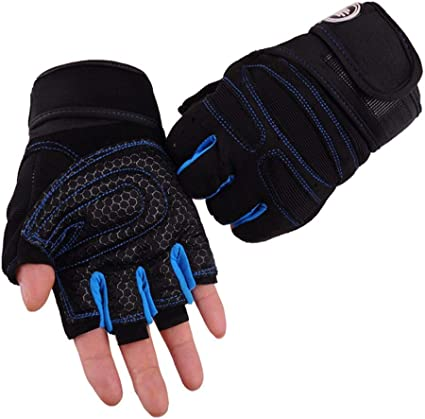 Men Mens  Outdoor Cycling Bike Half Finger Gloves Fashion Sport  Mittens Glove