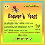 Insectsales.com Brewers Yeast (2 Lbs) TOP GRADE For Fruit Fly Cultures