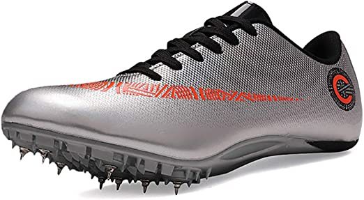 ZLYZS Zapatillas de Atletismo, Running 8 Spikes Training ...