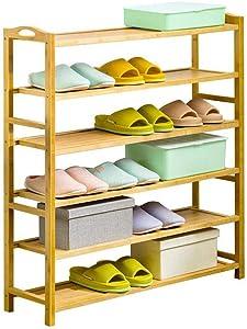 HyiFMY Shoe Rack, Dustproof Shoes Cabinet Wooden Shoe Rack Easy Assembly Storage Shoes Cabinet Minimalist Modern Home Furniture Hallway Space Saving Shoes Organizer Shelf