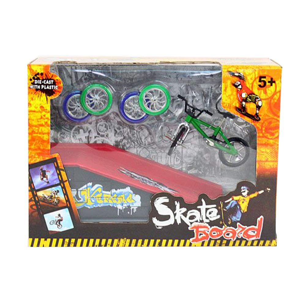 Urchins' Family Finger Bike Kit with Racing Park (8013B) by Urchins' Family