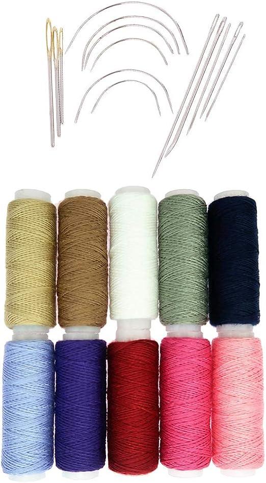 Un paquete de 2 Aguja de ojos grandes de lana Knitters para coser tu trabajo Bordado