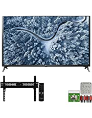$889 » LG 65UP7000PUA 65 Inch UP7000 Series 4K LED UHD Smart webOS TV (2021 Model) Bundle with TaskRabbit Installation Services + Deco Gear Wall Mount + HDMI Cables + Surge Adapter