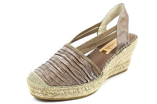 VIDORRETA Alpargatas Para Mujer, Color Marrón, Talla 38 EU: Amazon.es: Zapatos y complementos