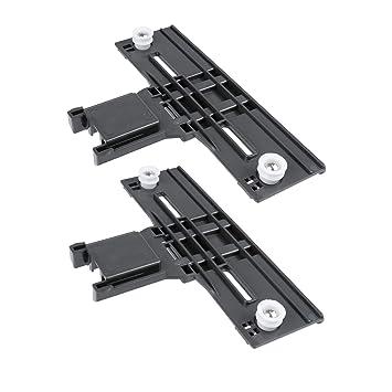 W10350376 Dishwasher Top Rack Adjuster Set Fits For Whirlpool Kenmore Kit