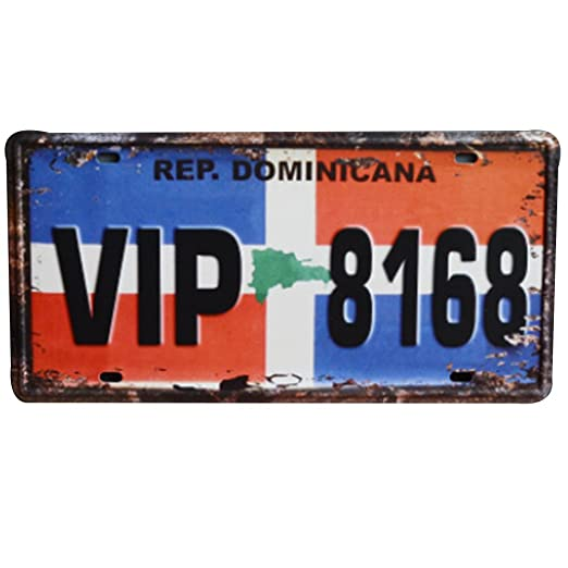 Yililay VIP 8168 Cartel de Chapa metálica del Cartel ...
