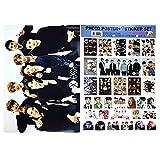 KPOP K POP EXO Official Photo Poster + Big Size Sticker Set : EXO Ver.12