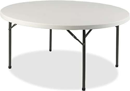 Lorell Banquet Table, 71 by 71 by 29-1 4-Inch, Platinum