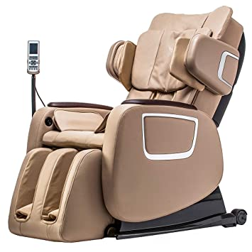 BestMassage Full Body Zero Gravity Shiatsu Massage Chair Recliner wHeat and Long Rail