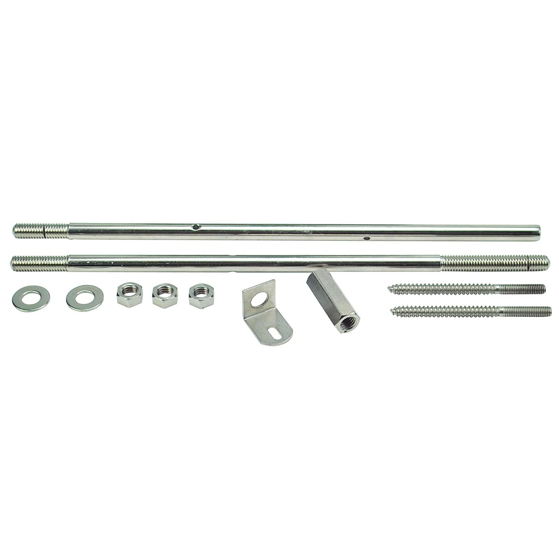 Golden Gate P-171 Banjo Coordinator Rods For Single-Piece Flange - Nickel-Plated Steel Saga Musical Instruments