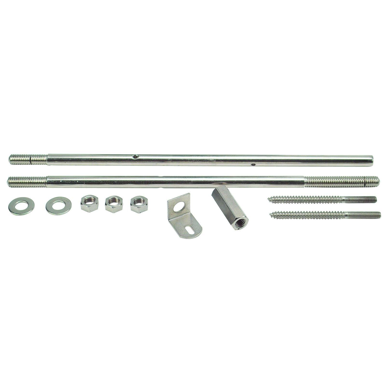 Golden Gate P-171 Banjo Coordinator Rods For Single-Piece Flange - Nickel-Plated Steel