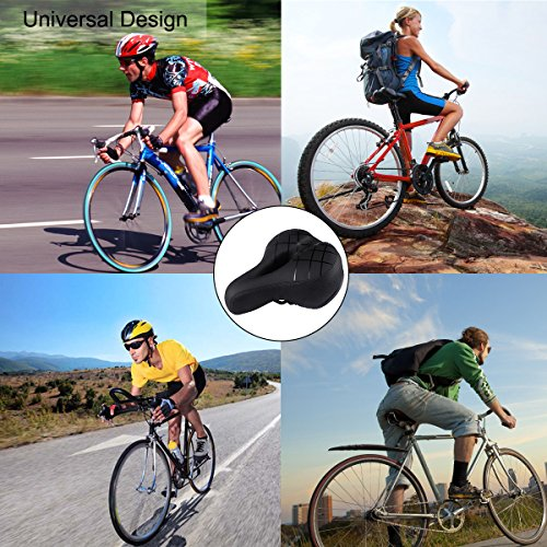 DOSLEEPS Ergonomic Bike Saddle Bicycle Seat, Bike Seat with Shockproof Spring and Punching Foam System,Cycling MTB Saddle Cushion Pad for Cruiser/Road Bikes/Touring/Mountain Bike by DOSLEEPS (Image #6)