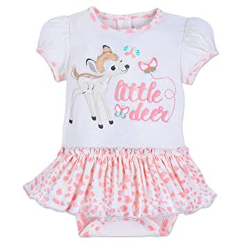 a4d502100d0 Image Unavailable. Image not available for. Color  Disney Bambi Skirted  Bodysuit for Baby ...