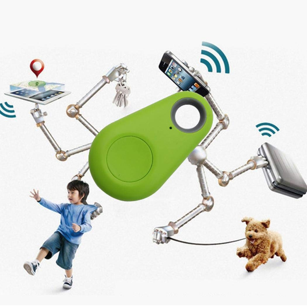 Wekold Smart GPS Tracker kabellose Anti-Alarm-Sensor-Vorrichtung f/ür Kinderhundeautomappe