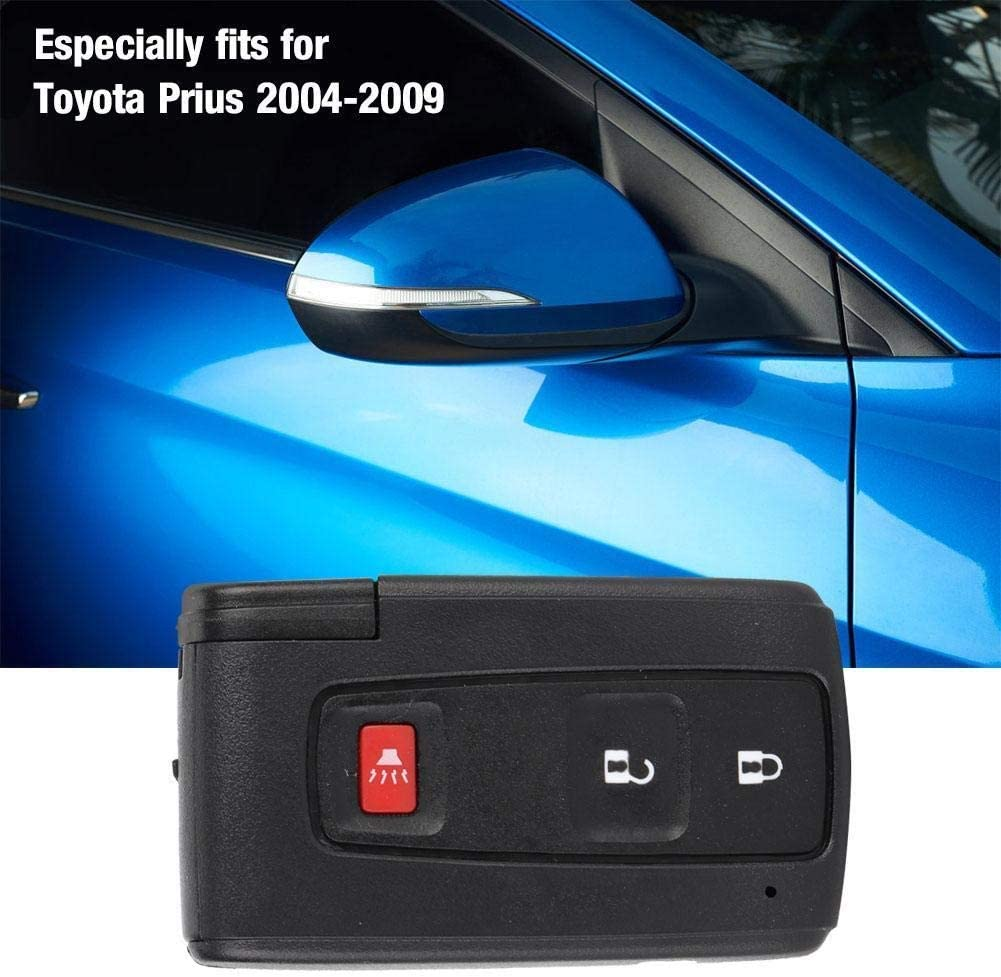 Dingln Car Remote Flip Key Fob Shell Case Fit for Prius 2004-2009 MOZB21TG