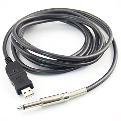 Guitarra USB Všªnculo Instrumento Cable PC Grabar 3M: Amazon.es: Instrumentos musicales