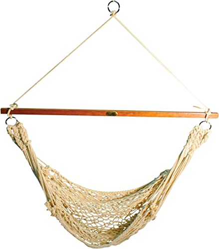 Algoma Hanging Cotton Rope Net Hammock Chair