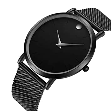 LKTGBRCVZJU Relojes Marea Ultrafino 2018 Reloj Marea de los Hombres señoras Impermeables Moda Personas Estudiantes Personalidad