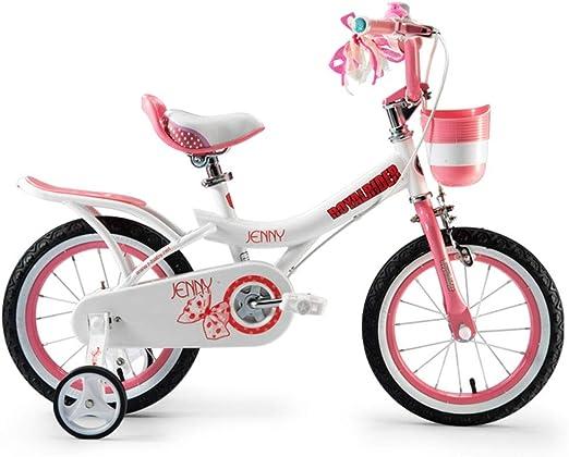 Bicicletas infantiles y accesorios Bicicleta para Niños Bicicleta De 3-10 Años De Edad Niño Niños Y Niñas Pedal Cochecito Bicicleta Móvil Bicicleta Ligera (Color : Pink, Size : 14 Inch): Amazon.es: Hogar
