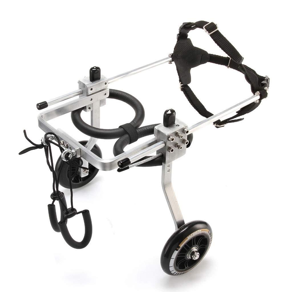 NYDZDM Pet Sedia a rotelle Paralisi Pet Sedia a rotelle Paralisi Generale Cani per Cani disabili Sedia per disabili Riabilitazione (Dimensioni   S.)