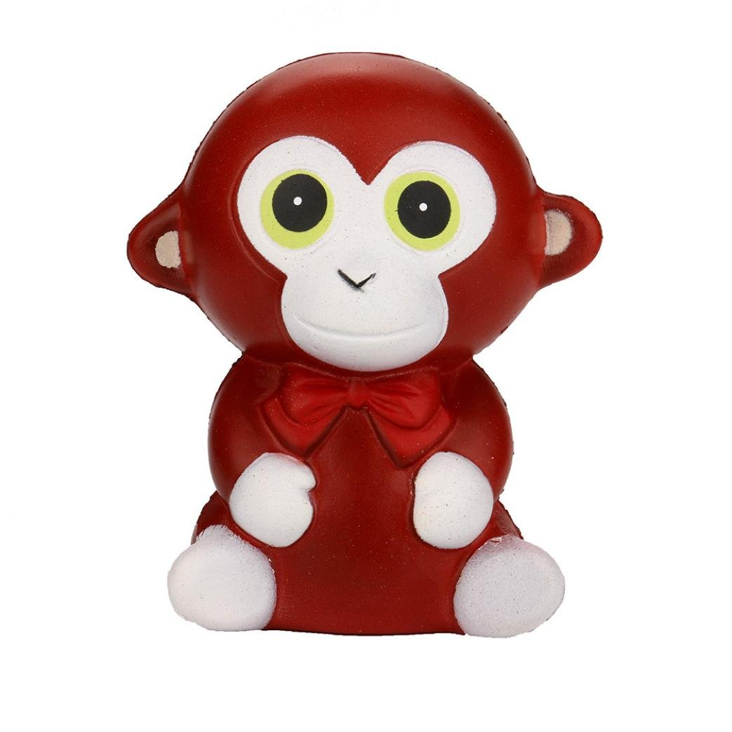 TrimakeShop Squeeze Monkey Cream Bread Scented Slow Rising Toys Phone Charm Gifts