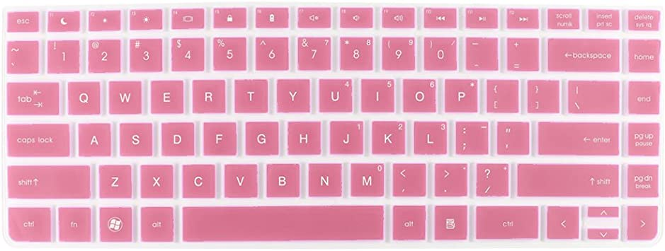 Rosa teclado para ordenador portátil Protector de pantalla ...