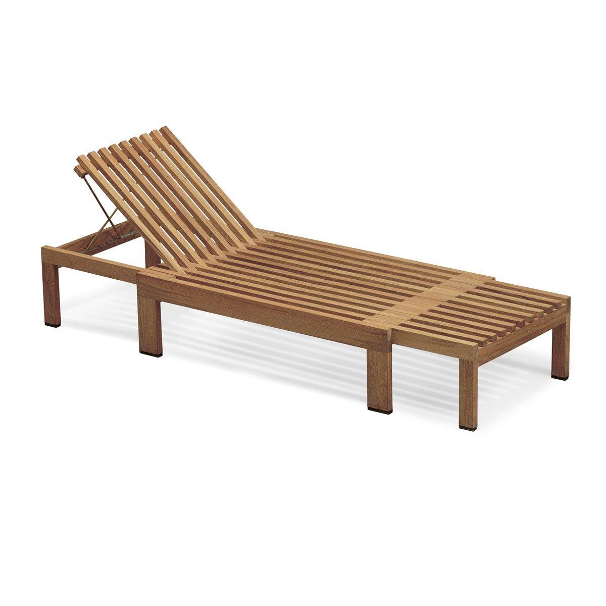 Skagerak - Riviera Liege - Teak - Design - Gartenliege - Sonnenliege
