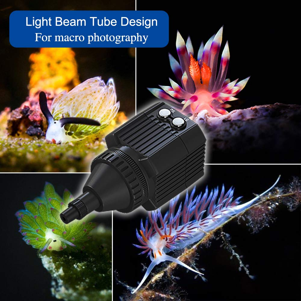 Orsda Diving Light High Power Mini Waterproof led Light Scuba Diving Lights Fill-in Light for Waterproof housing Underwater Photographic Lighting System by Orsda (Image #6)