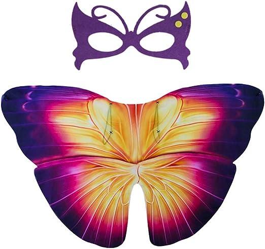 Jingya Alas de Mariposa para niños, Hada Mariposa Mariposa Chal y ...