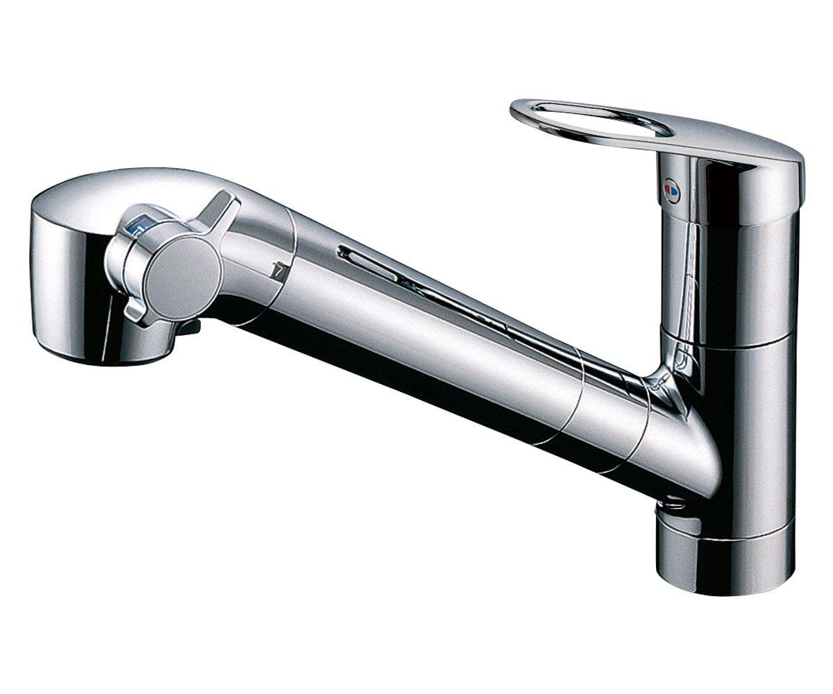 【取替交換付き】TOTO キッチン用水栓 浄水器内蔵形 めっきハンドシャワー TKGG38E(T) B079Q9TSSJ