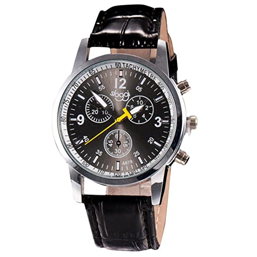 Relojes Deportivos Hombre Sunday Reloje Plateado Y Negro Relojes Hombrehombre Reloj Edifice Ofertas Relojes Mujer Moda De Lujo De Cocodrilo Hombre De Cuero ...