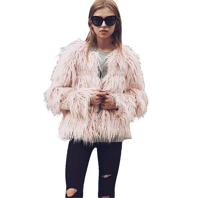 Laisla fashion Chaqueta Piel Mujer Elegantes Primavera Otoño ...