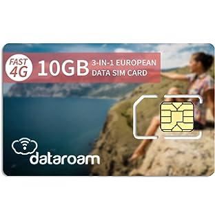 Amazon.com: dataroam Prepaid 4G Europe - Tarjeta SIM de ...