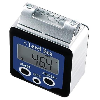 Digital Inclinometer Bevel Box Angle Protractor Gauge Spirit Level Waterproof UK