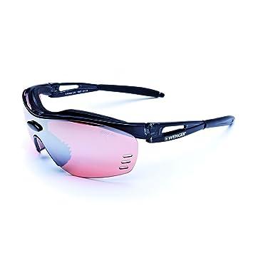 Wenger X-Kross Sportbrille OF1007.01 black / black Lens Bike Pro active red OoBj8oJJJ