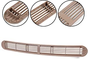 Beige Dash Defrost Vent Cover Grille Panel Replacement For Chevrolet GMC Oldsmobile SUV Pickup Truck 15046436