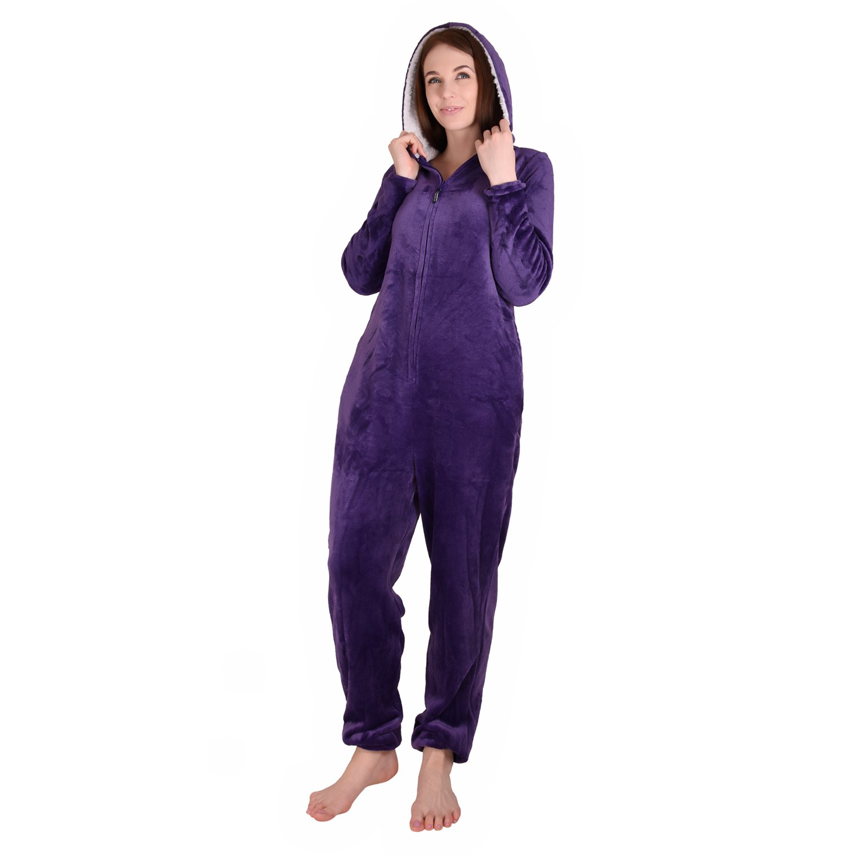 Cherokee Women's Onesie Sleepwear, Parachute Purple, M