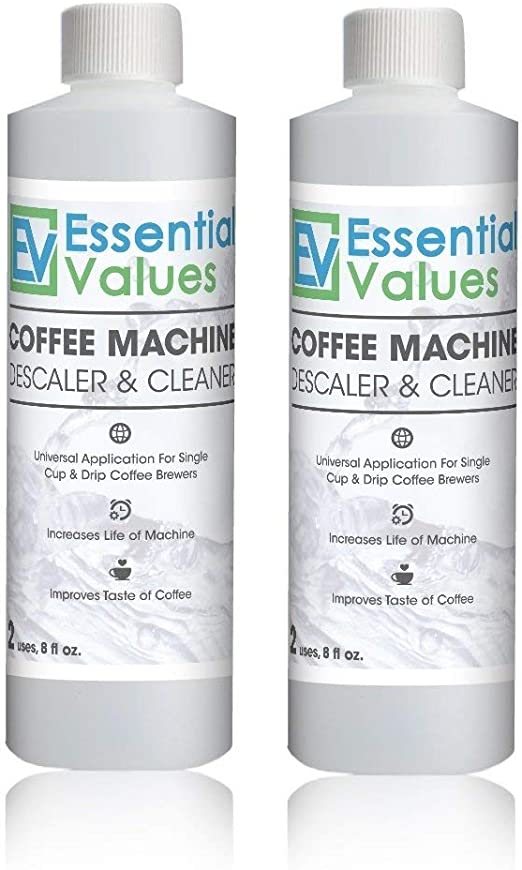 Essential Values Descalcificador de Café para Delonghi, Keurig ...