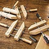 """8"""" Wooden Handscrew Clamp"""