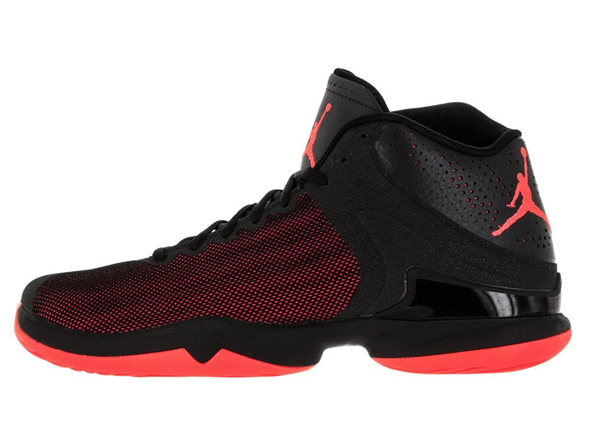size 40 8e02a 1e9d8 Jordan Super. Fly 4 PO iv Men Basketball Shoes Black Infrared, Black Infrared  23 Anthracite, 10  Buy Online at Low Prices in India - Amazon.in