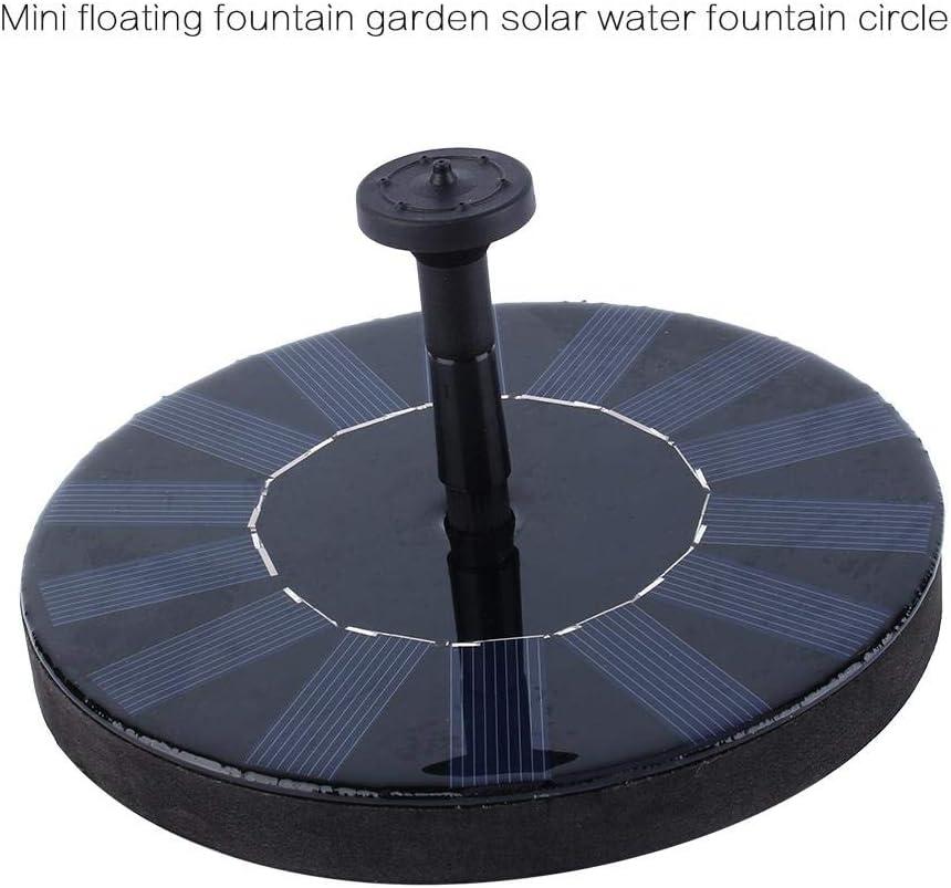Piscina al Aire Libre Estanque de Agua de jard/ín 7V Bomba de Agua de Panel Solar 1.4W Bomba de Panel Solar Decoraci/ón de jard/ín Flotante Estanque peque/ño Circulaci/ón de Agua para ox/ígeno