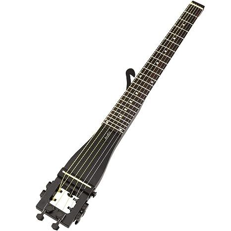 De la guitarra acústica de 6 cuerdas de traste Anygig 64,77 cm de escala