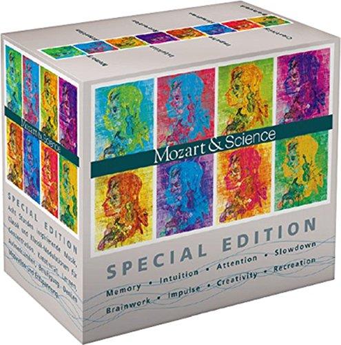 Mozart & Science Special Edition: Sonderedition 8 Audio Cds im Schuber