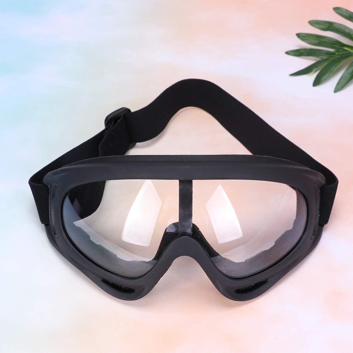 HEALLILY 2 Piezas Gafas de Seguridad Gafas M/édicas Gafas Transparentes Gafas de Seguridad Protecci/ón contra Los Ojos contra El Polvo para Productos Qu/ímicos de Viaje Al Aire Libre en Hospitales