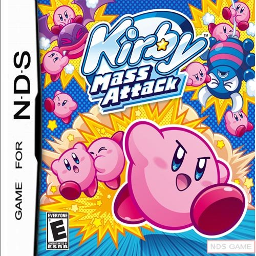 Kirby Mass Attack for DS Games (DS & DS Lite Only)