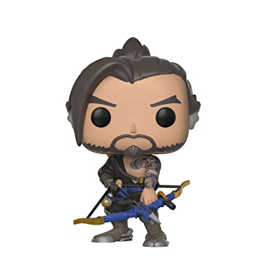 Funko Pop Games: Overwatch - Hanzo Collectible Figure, Multicolor: Toys & Games